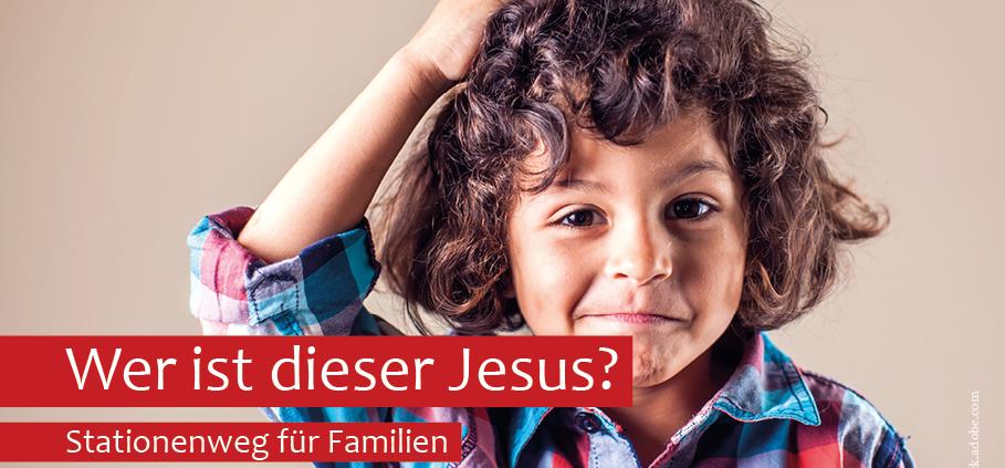 Stationenweg in Neumünster – Wer ist dieser Jesus?